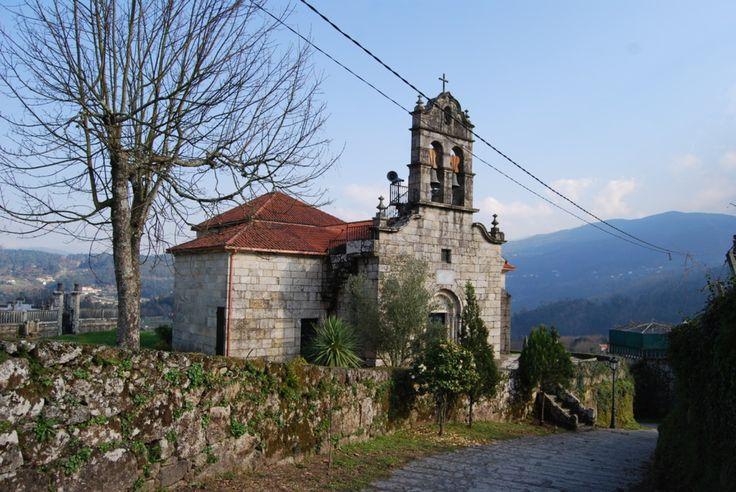 Iglesia de San Juan de Albelos, Pontevedra, Camino Portugués