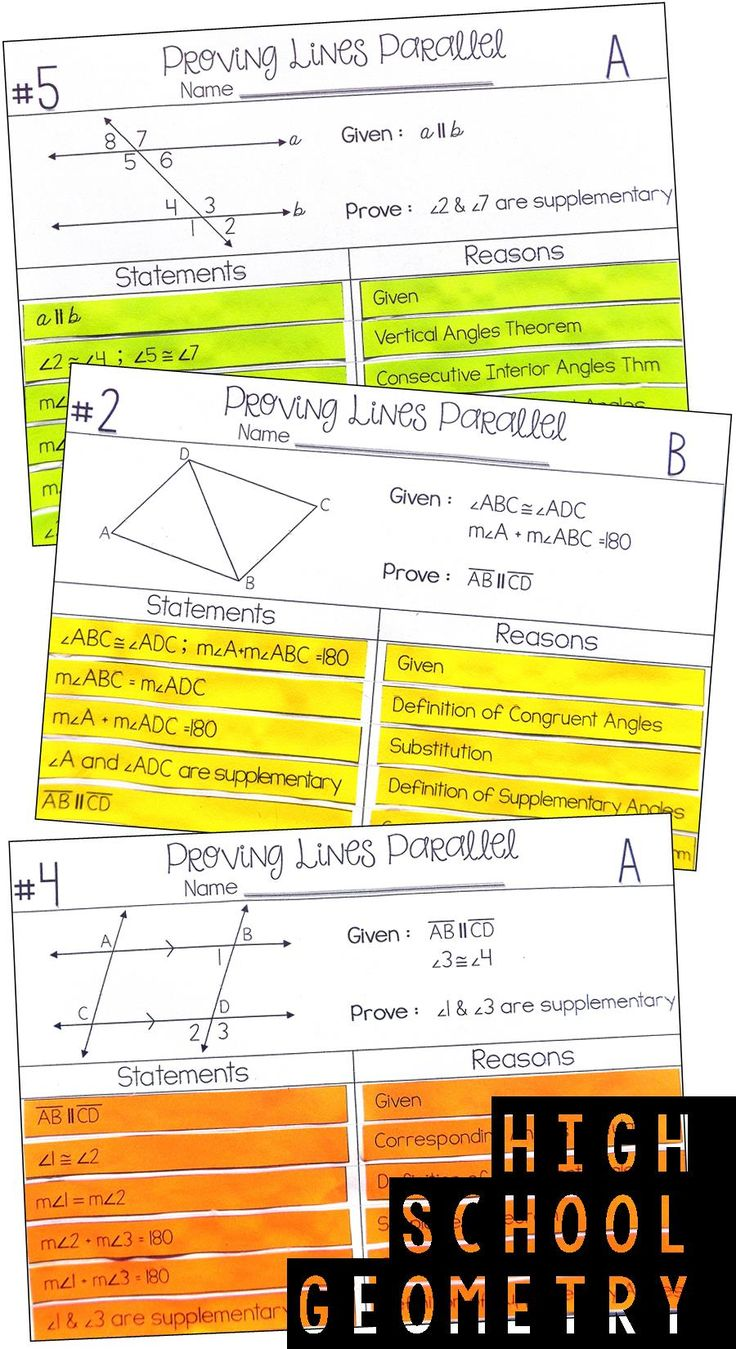 This was the BEST proof activity for my Geometry students!  Love!  The hands on aspect of this proving lines parallel matching activity was such a great way for my Geometry students to get more comfortable with proofs.  I will be doing this activity every year when I teach Parallel Lines cut by a transversal to my Geometry students.   I also love that it has differentiated instruction.
