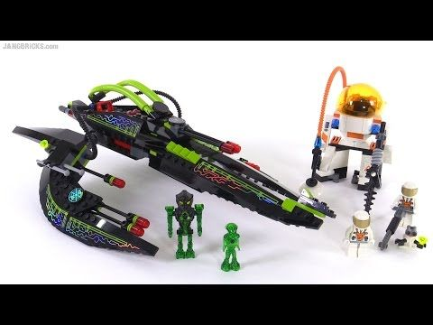 LEGO Mars Mission ETX Alien Infiltrator from 2008! set 7646