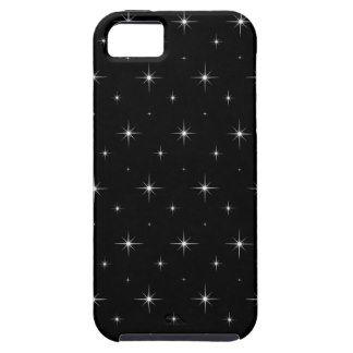 Stargazing - Black And Bright Stars Pattern iPhone 5 Case