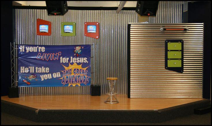 25 Best Church -- Kids Stage Design/Decor Images On