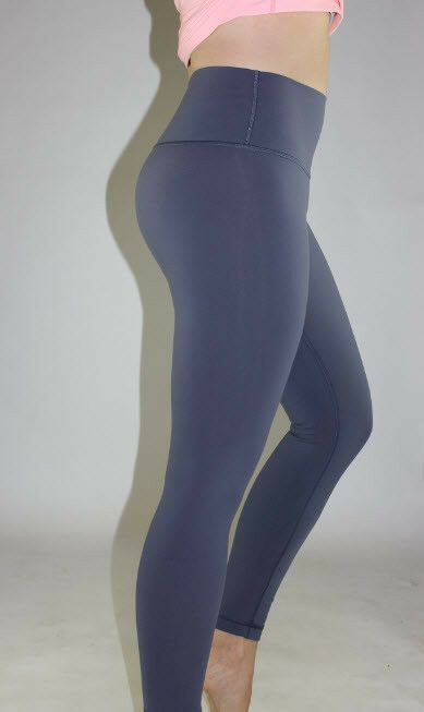 a4937e65b632e2 Lululemon Wunder Under 7/8 Tight size 10 Shadow Blue NWT Full-On ...