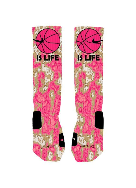 Basketball Custom Nike Elites Socks Basketball by NikkisNameGifts
