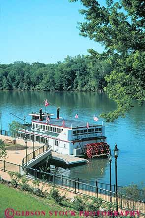 Princess Augusta Riverboat on the Savannah River, Augusta, Georgia