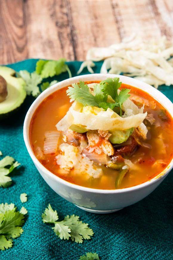 Tortilla Soup (Instant Pot)