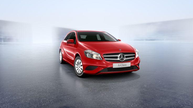 Mercedes-Benz A-Klasse A 180 CDI 1,5l Schaltgetriebe 109 PS in Jupiterrot Quickcode: M7294221 31.702€ #Diesel