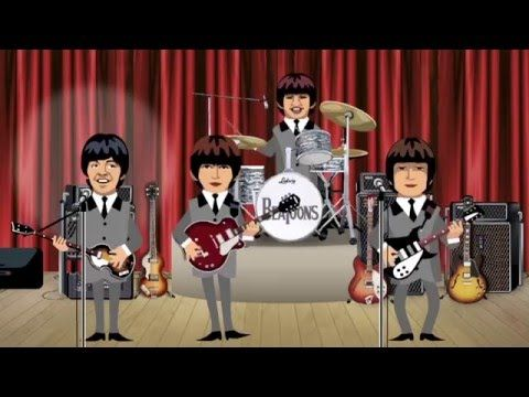 The Lego Beatles-happy birthday - YouTube
