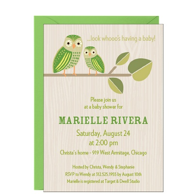 29 best images about owl baby shower invitations on