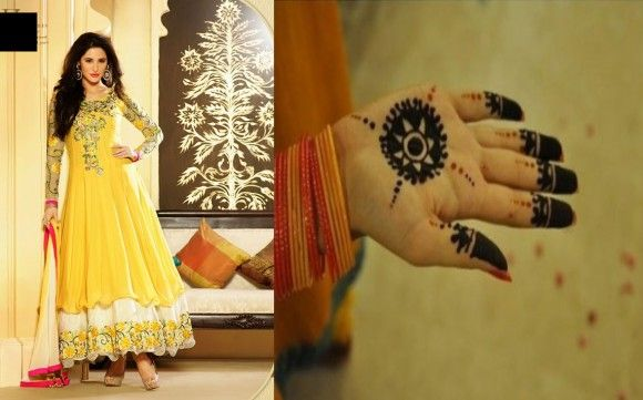 Girls especially children daily search last beautiful collection of mehndi designs because they want unique