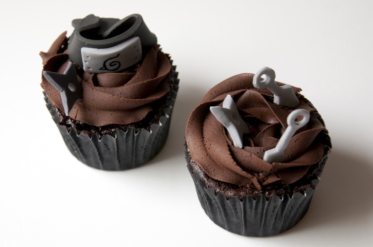 These Naruto cupcakes ARE AWESOME!