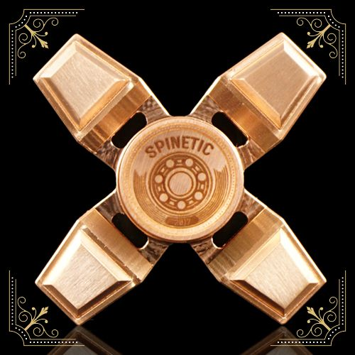 Spinetic Spinners X – Copper | Spinetic Fidget Spinners