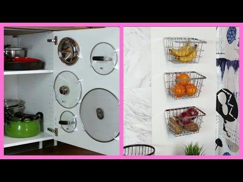 Aprovecha el espacio en tu pequeña cocina - YouTube