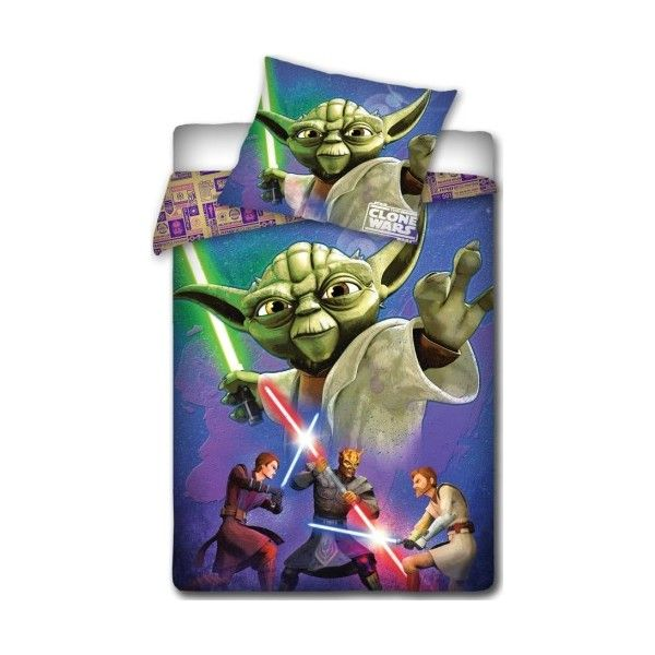 Housse de Couette Star Wars Yoda avec taie
