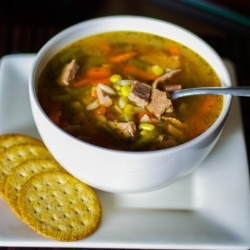 Italian Vegetable Beef Soup by CarriesExpKtchn