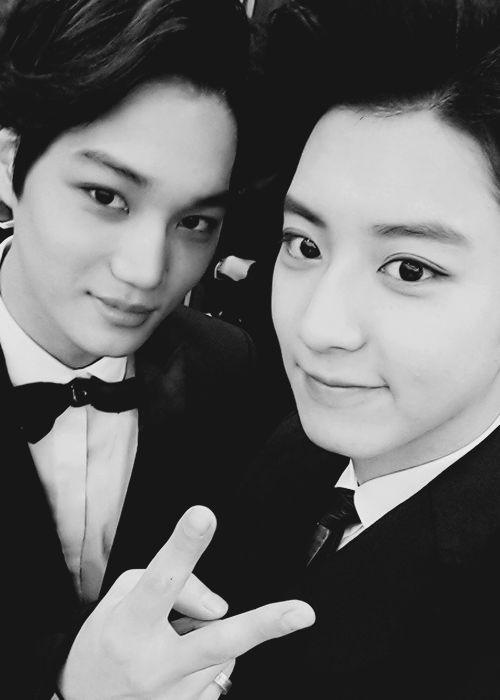 Cute Chanyeol + Handsome Kai ♡