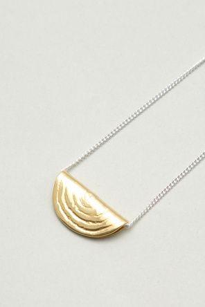 Lucy Folk- Dip Diced Onion Necklace