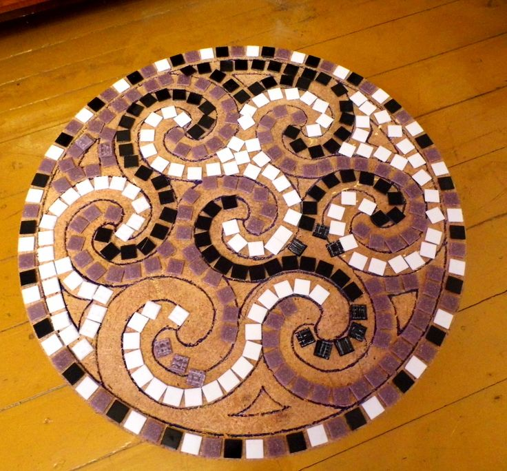 Table with mosaic Capuccinno http://selawiart.blogspot.com/2014/10/sto-z-mozaika-capuccinno.html