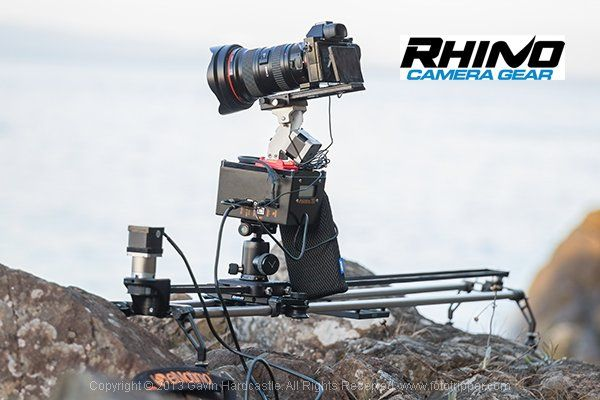 Rhino Slider PRO 4ft Review - Camera Rail System for Time Lapse and Video