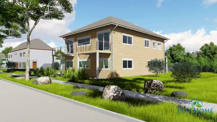 SCH10 4 x 40ft 4 Bedroom Container Home video