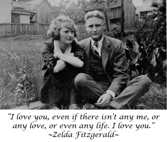 Zelda Fitzgerald and those words of love
