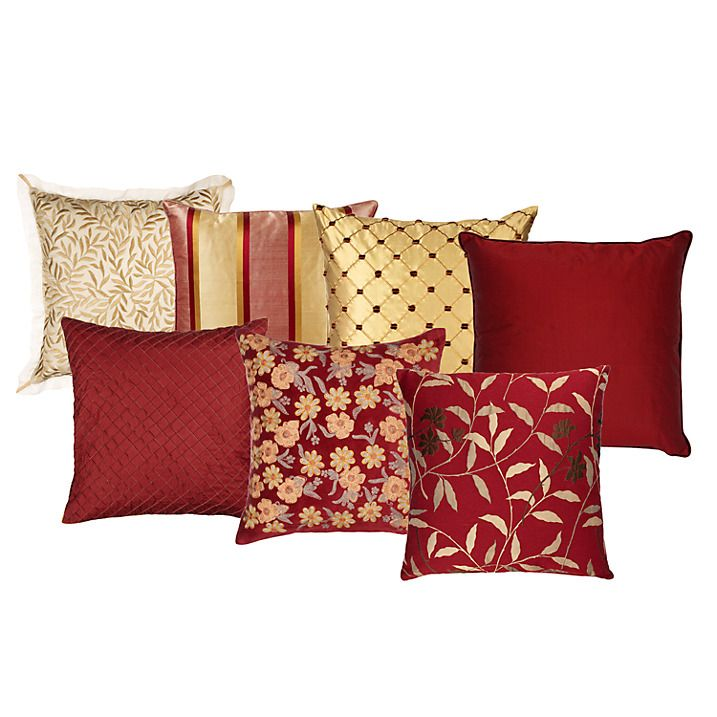 Buy Royal Reds Cushion Collection online at John Lewis