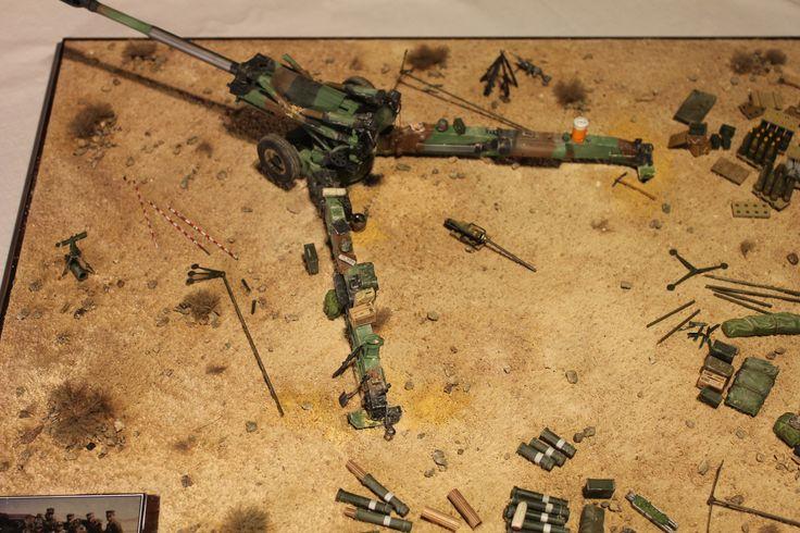 M198 Howitzer Diorama