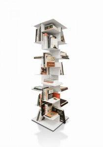 Libreria a Colonna Fissa Librespiral 170 Danese Milano - Angolo Design