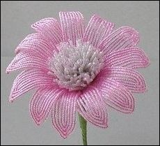 Pink Petals - Beaded Flower Tutorial                                                                                                                                                      More