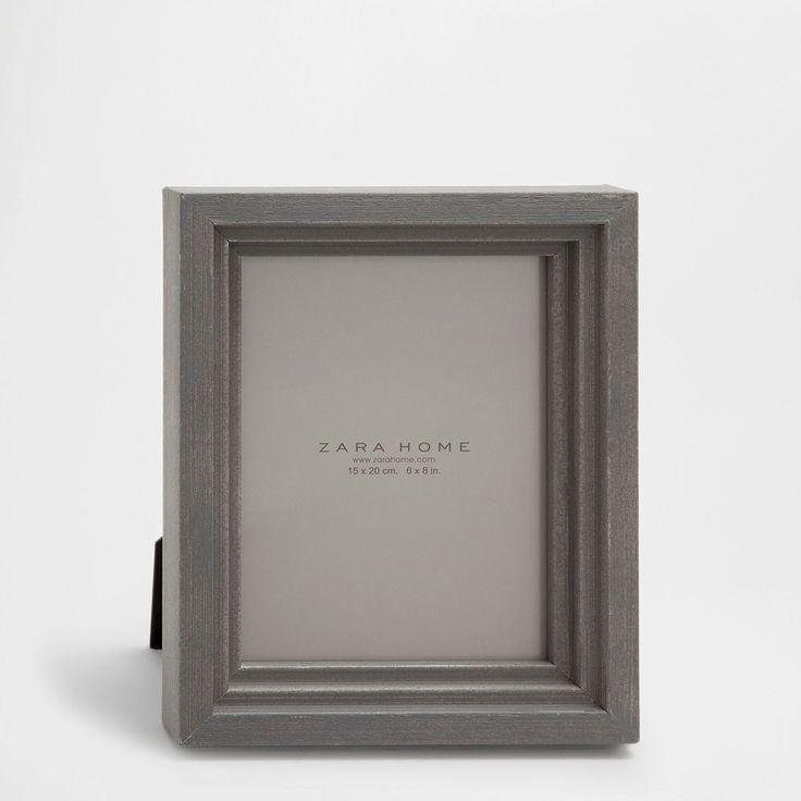 Εικόνα 1 του προϊόντος Κορνίζα με τριπλή μπορντούρα γκρι σκούρο