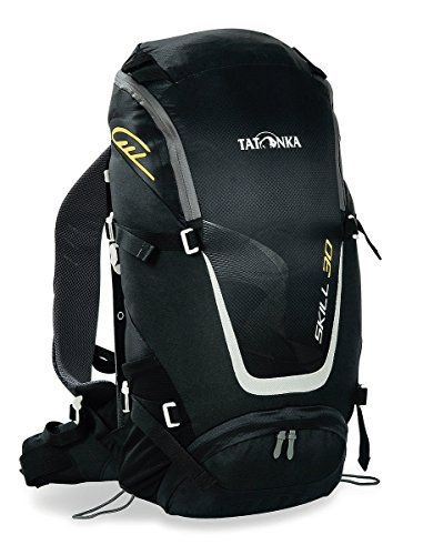 Tatonka Skill 30 Black Backpack, 27 Liters.  Super comfortable back and very high quality zips.