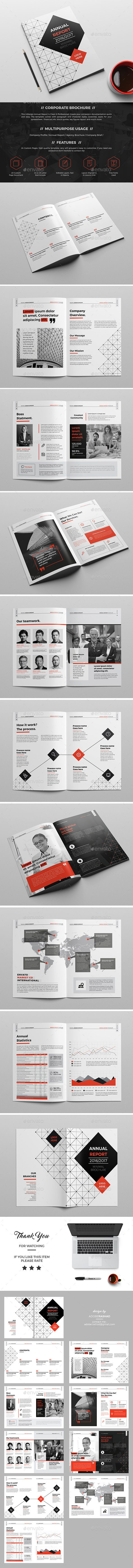 Company Brochure/Report 20 Page  #adoberashad #annual report #brand • Available here → http://graphicriver.net/item/company-brochurereport-20-page/15822328?ref=pxcr