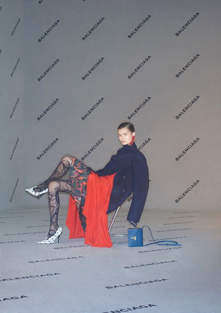 If Balenciaga's AW 2017 campaign is any indication, normcore is far from over. The ads, shot by Johnny Dufort, have a school picture day sensibility, except instead of braces, acne, and haircuts that won't age gracefully, the models sport crisp turtlenecks, patterned tights, and legging boots (no si