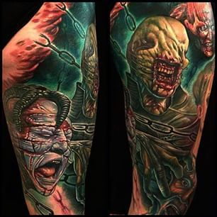hellraiser tattoos | Hellraiser Tattoos | Pinterest ...