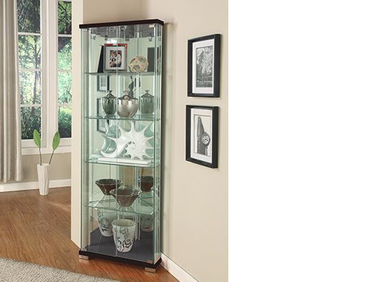 Best 25 corner display cabinet ideas on pinterest - Glass corner shelf for living room ...