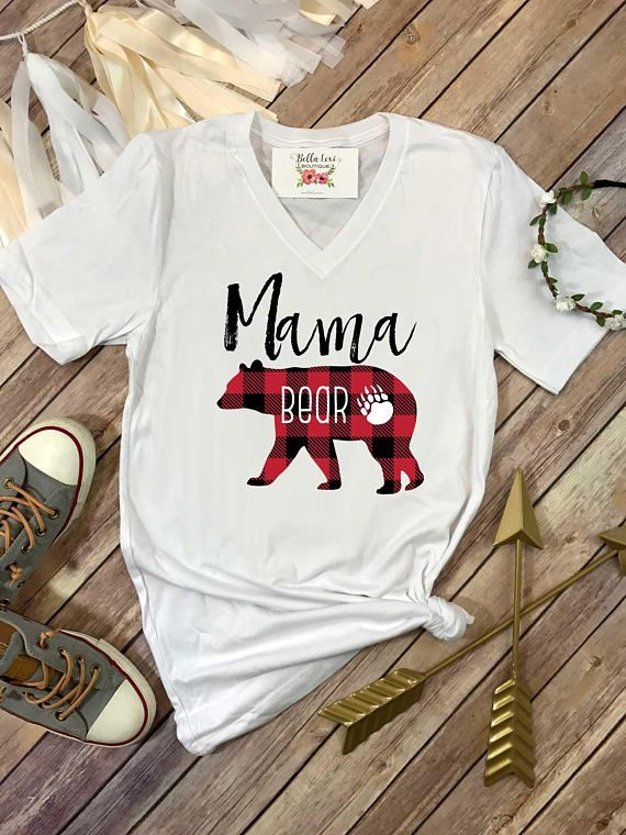 3c57be25f38 Mama Bear Shirt