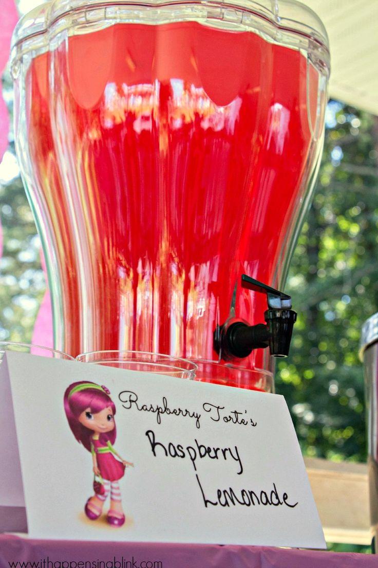 Raspberry Torte's Raspberry Lemonade- Strawberry Shortcake Birthday Party