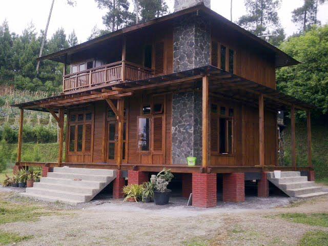 desain rumah kayu minimalis klasik dan sederhana membangun rumah dapat dibangun dengan bahan material apa saja salah satunya membangun r