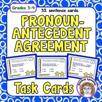 pronoun and antecedent agreement worksheet pdf