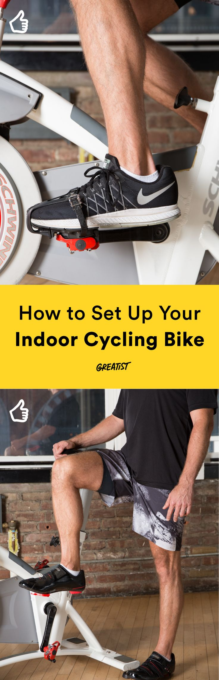 Tour de France, here you come! #indoorcycling #spinning http://greatist.com/move/indoor-cycling-how-to-set-up-your-bike-like-a-pro