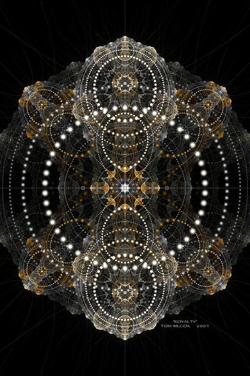 radial array - sacred geometry
