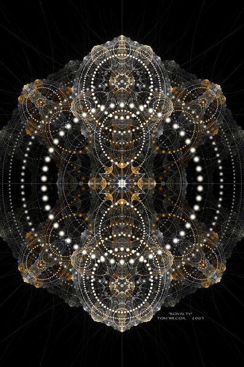 radial array - sacred geometry