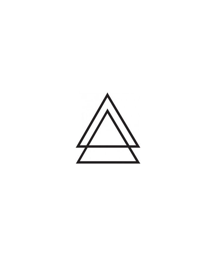 TRIANGLE TATTOO x2 - DCER - Tatouages Temporaires Éphémères - Collectif d'artistes