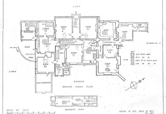 Witches of east end house floor plan country pinterest for Goan house designs and floor plans