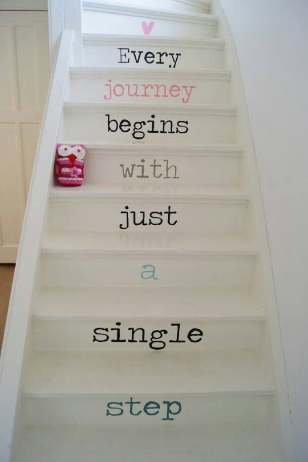 stairs quote | 6 ways to update a staircase