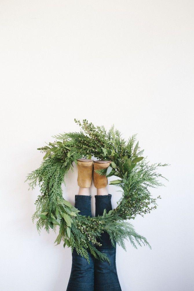 67 best Déco de Noel Couronne de Noël images on Pinterest - faire son plan de maison soi meme