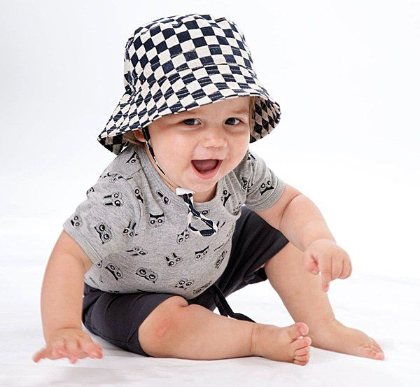 Babyology exclusive - Heads up, it's a whole new bunch of summer hats for babies and kids from Acorn Kids!