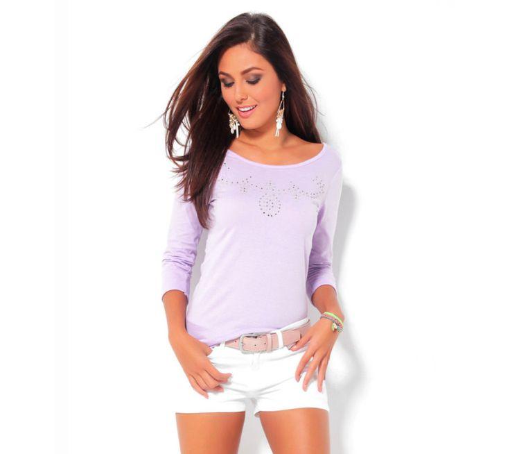 Tričko s aplikací korálků a štrasu   vyprodej-slevy.cz #vyprodejslevy #vyprodejslecycz #vyprodejslevy_cz #shirt