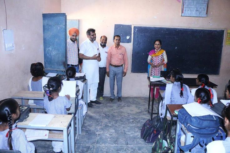 MLA NK Sharma released grants to upgrade the school in Dappar village and to build new rooms in the school premises.  #AkaliDal #ProgressivePunjab