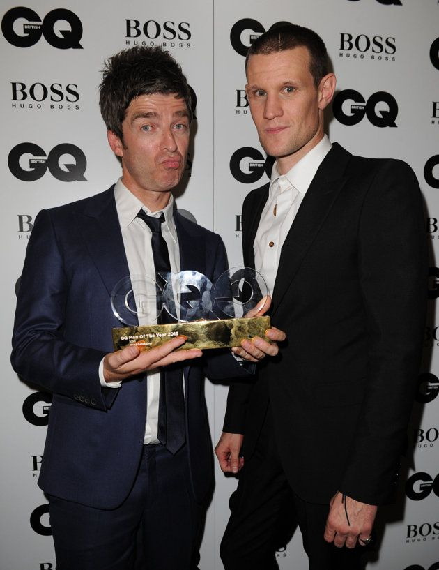 Noel Gallagher with Matt Smith