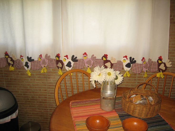 gallinas cortinas